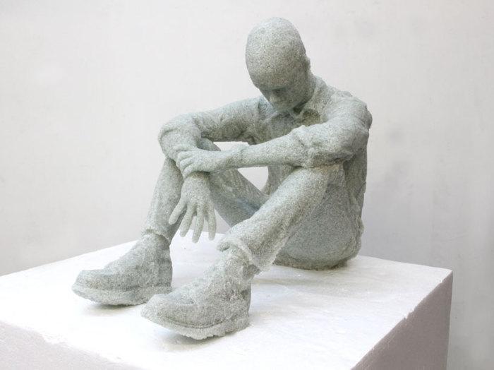 Скульптуры из битого стекла от Даниэля Аршама (Daniel Arsham)