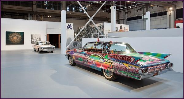 Настоящее уличное искусство. Старые автомобили от «Art in the Streets»