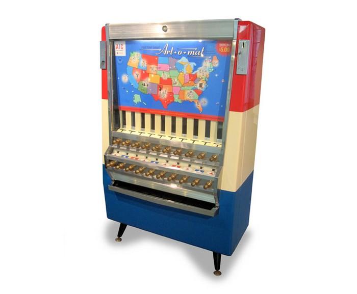 Art-O-Mat — автомат, торгующий современным искусством