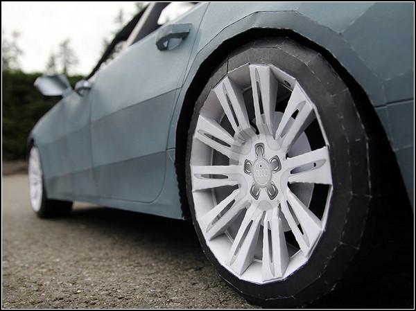 Бумажный Audi A7 от Тараса Лесько (Taras Lesko)