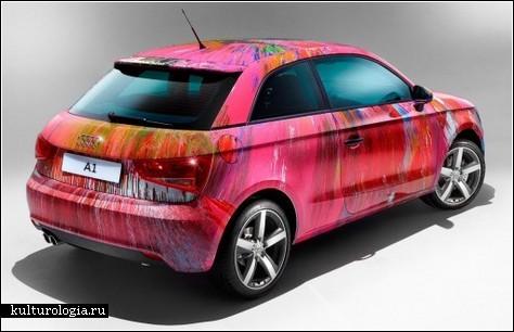 Audi A1 от Damien Hirst