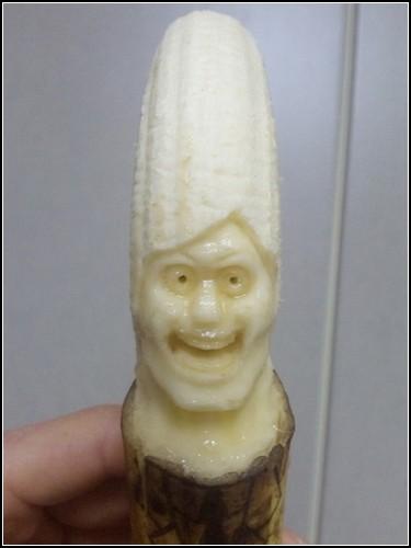 Банановые скульптуры «Banana Carvings» от Suu
