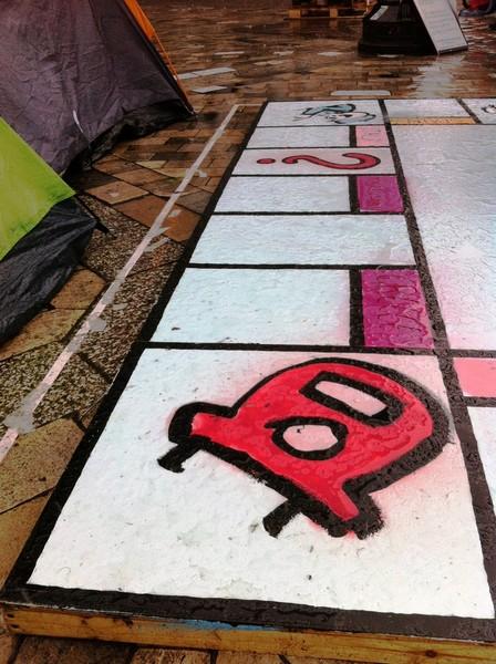 Giant Monopoly Board – вклад Banksy в Occupy London