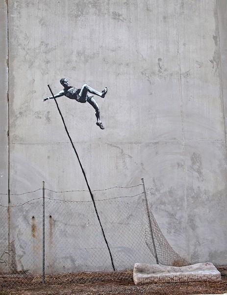 Олимпийские работы от Бэнкси (Banksy)