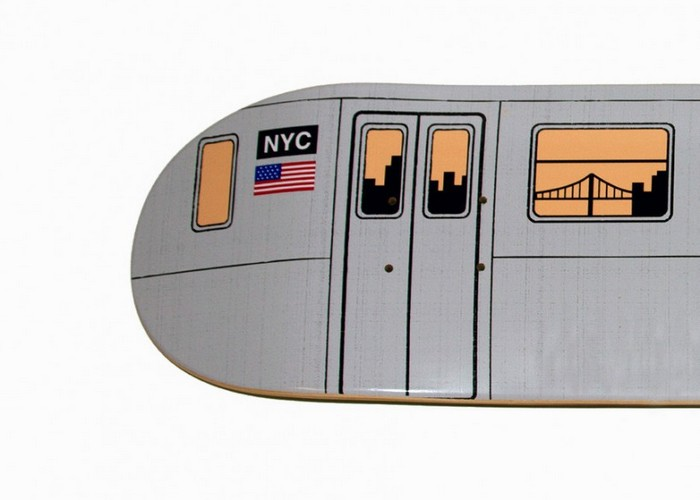 Subway Skate Deck – доски для скейтборда из метро Нью-Йорка
