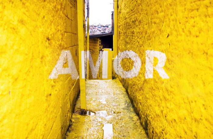 Разноцветные фавелы – арт-проект для трущоб Сан-Пауло