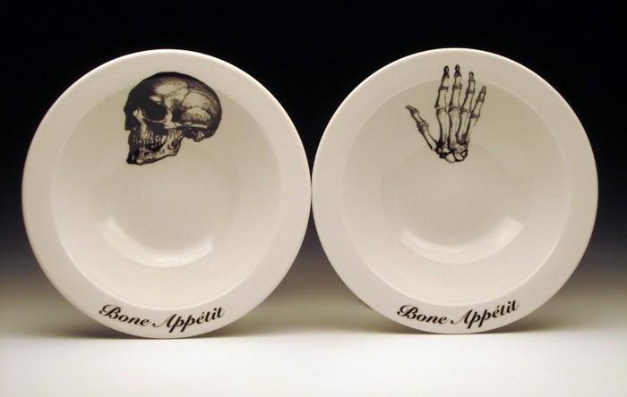Костлявые тарелки Bone Appetit!