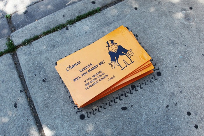Alternative Monopoly — уличная Монополия от художника Bored