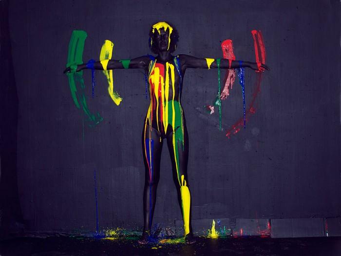 Цветные дамы от Олафа Браунинга (Olaf Breuning)