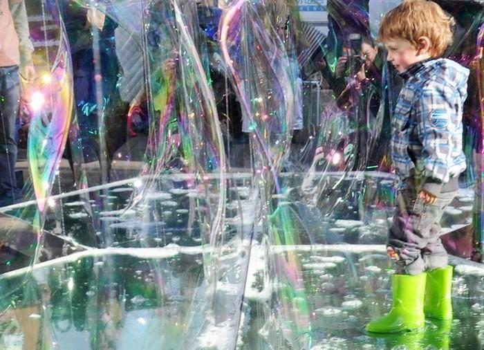Bubble Building – самый быстротечный дом в мире