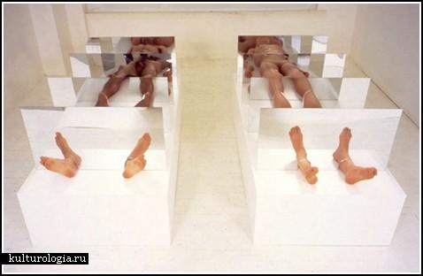 «Фрагментация» - инсталляция, посвященная клонированию