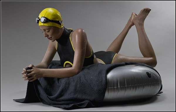 Гиперреалистичные мокрые скульптуры от Кэрол Фейерман (Carole Feuerman)