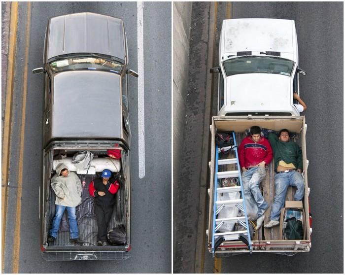 Car Poolers – мексиканские автопопутчики от Алехандро Картахены (Alejandro Cartagena)