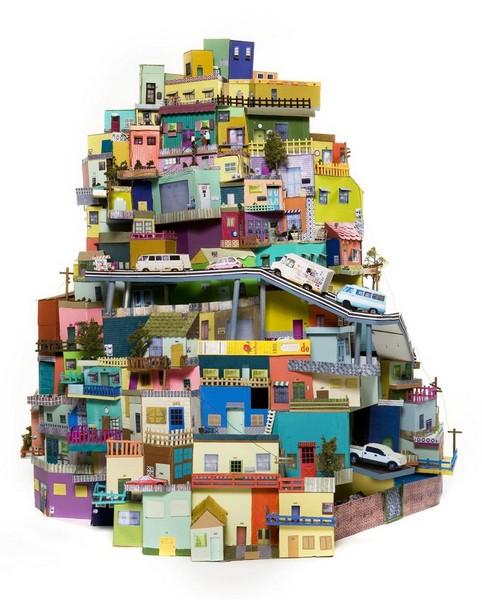 Cartonlandia – мир из картона от Анны Серрано (Ana Serrano)