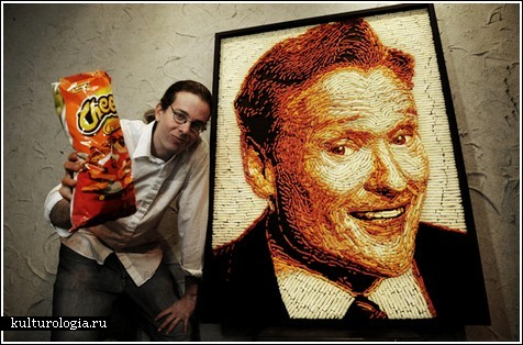 Портрет из Cheetos