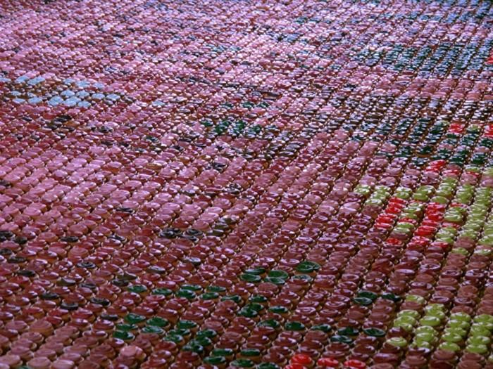Съедобная мозаика. Картина из кексов от Crumbs and Doilies