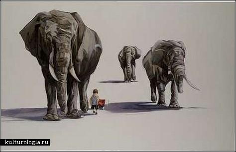 Дети и животные – беспроигрышный вариант