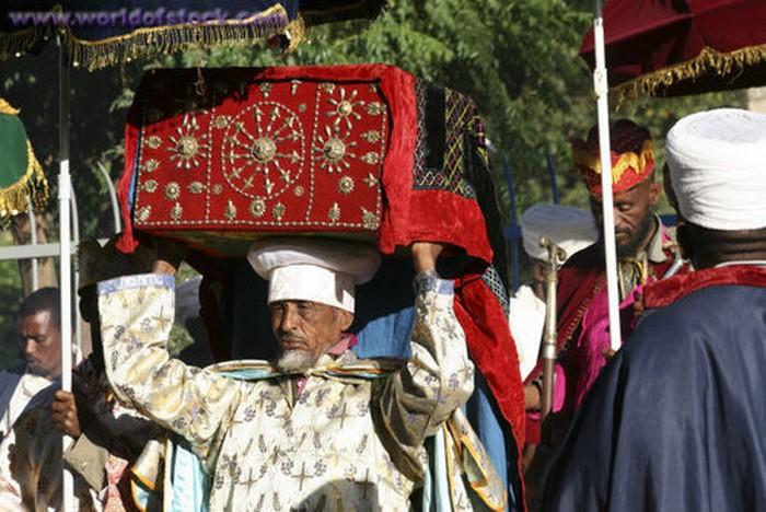 Ковчег Завета из Эфиопии