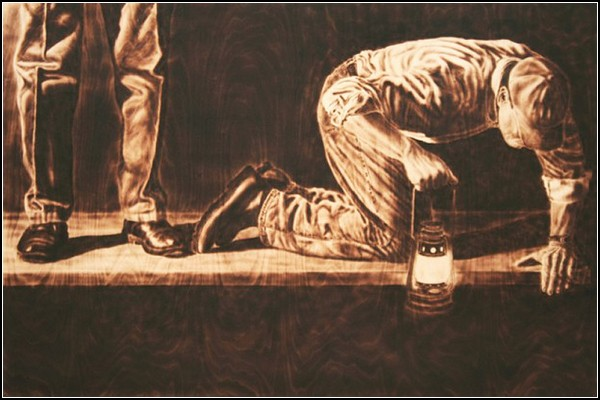 Рисунки огня и воды от Пола Чойновски (Paul Chojnowski)