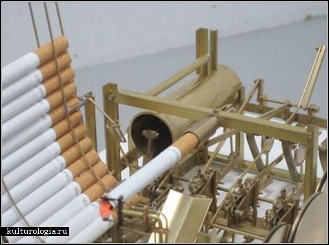 Курящая машина