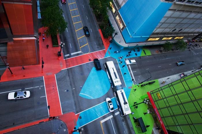 Color Jam — самый яркий перекресток в мире!
