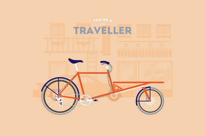 Путешественник. You are what you ride – велосипедные стереотипы от Cyclemon