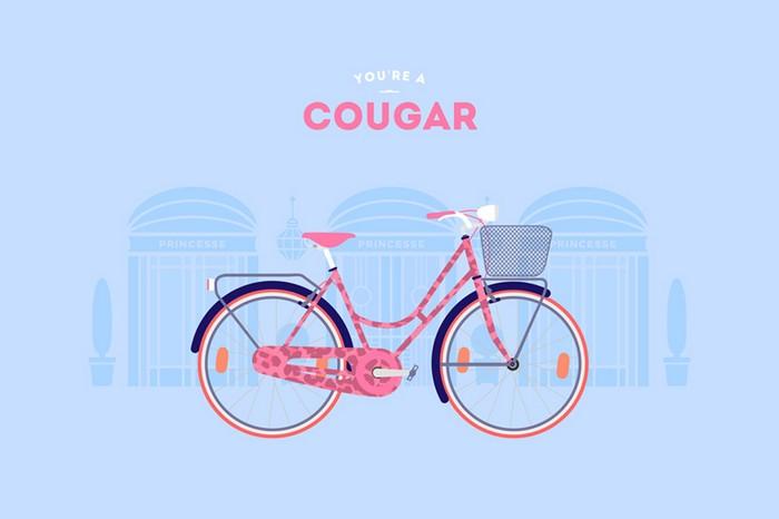 Домохозяйка. You are what you ride – велосипедные стереотипы от Cyclemon