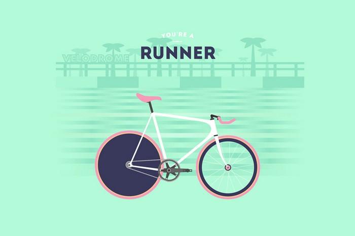 Велогонщик. You are what you ride – велосипедные стереотипы от Cyclemon