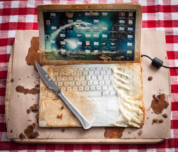 Deep-fried Gadgets: гаджеты во фритюре от Генри Харгривза (Henry Hargreaves)