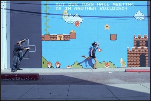 Super Mario граффити