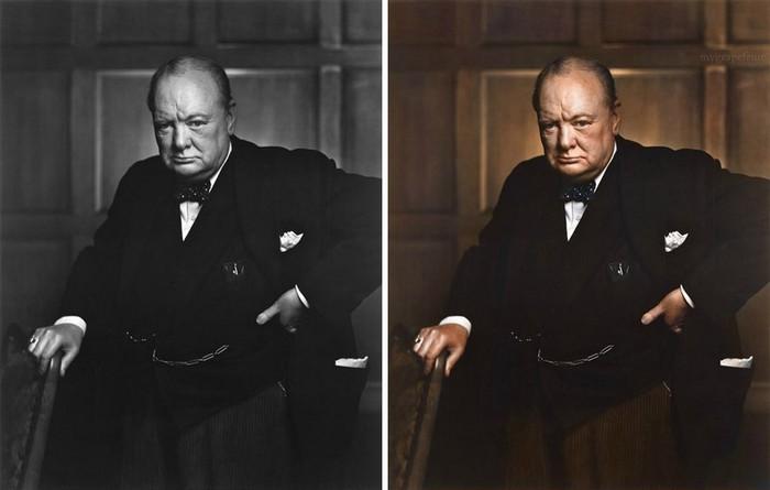 Winston Churchill, Sanna Dullaway