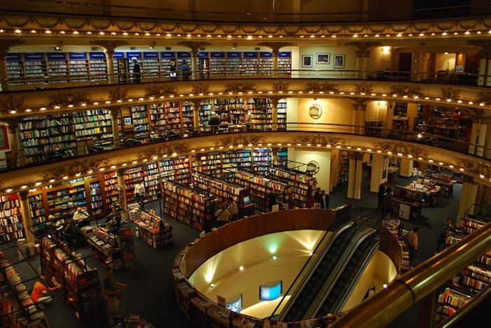 Libreria El Ateneo – самый шикарный книжный магазин в мире