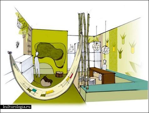 Творческая больница для душевнобольных детей