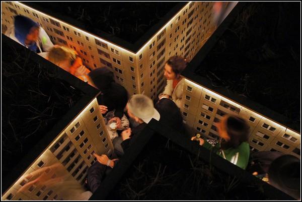 Подземный город для фестиваля Dockville Festival