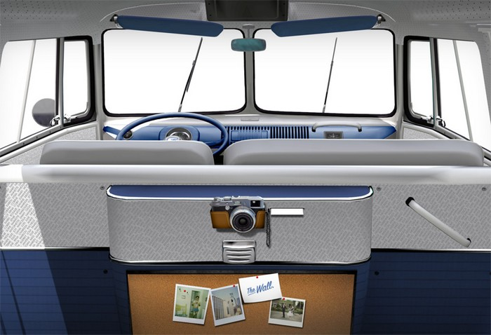 Fanwagen – Volkswagen с функциями Facebook