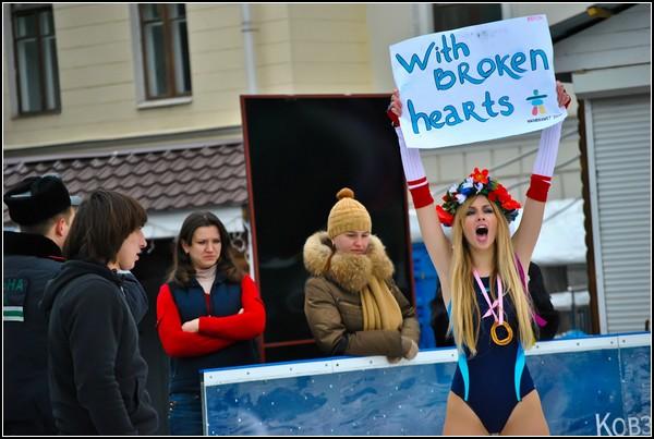 FEMEN – искусство политического перфоманса