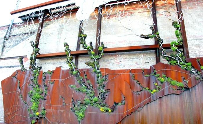 Watershed Wall — инсталляция в Торонто, посвященная силе воды