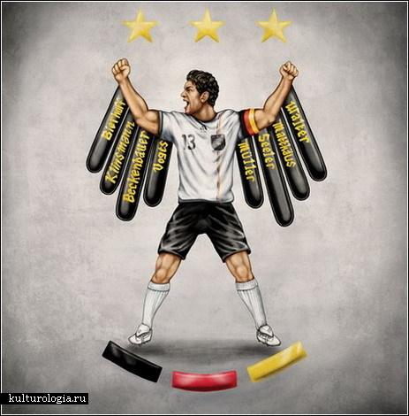 Футбольные фрески. В преддверии Чемпионата Мира по футболу