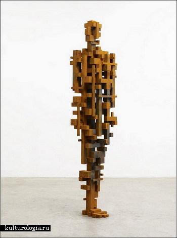 Деконструкция собственного тела от Энтони Гормли (Antony Gormley)