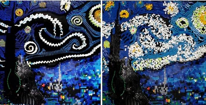 «Звездная Ночь» Винсента Ван Гога — теперь и в виде домино
