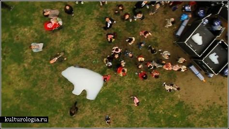 Белые медведи – это облака