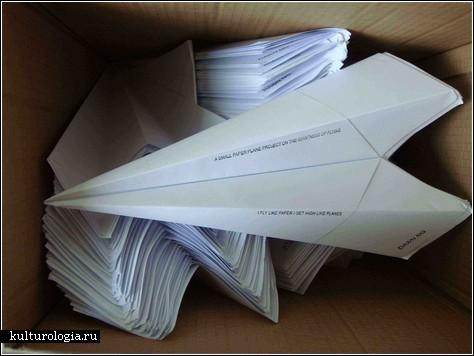 Бумажные самолетики – ностальгия и тоска по дому