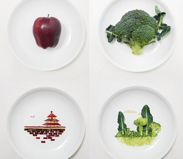 Пародия на Red. 31 days of creativity with food. Hong Yi aka Red