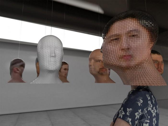 Portrait 360: портреты навыворот от Джанлуки Трайны (Gianluca Traina)