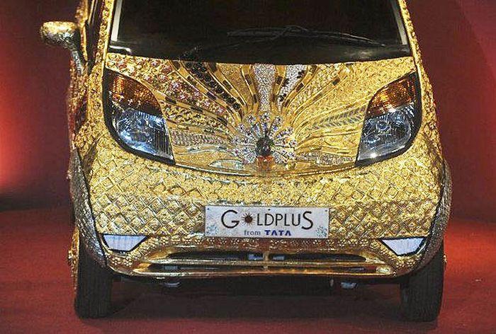 Tata Goldplus Nano – драгоценный вариант Tata Nano