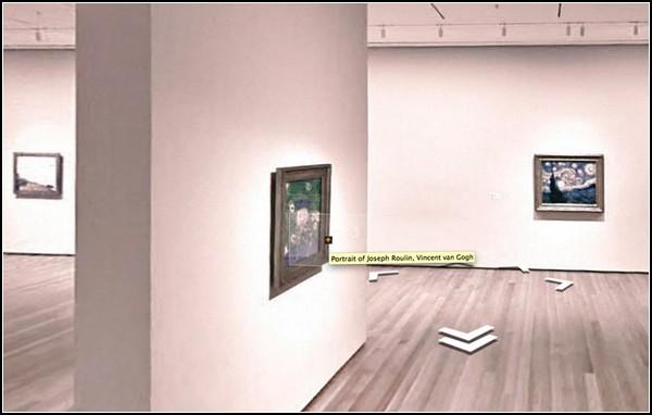 Виртуальные музеи в Google Art Project