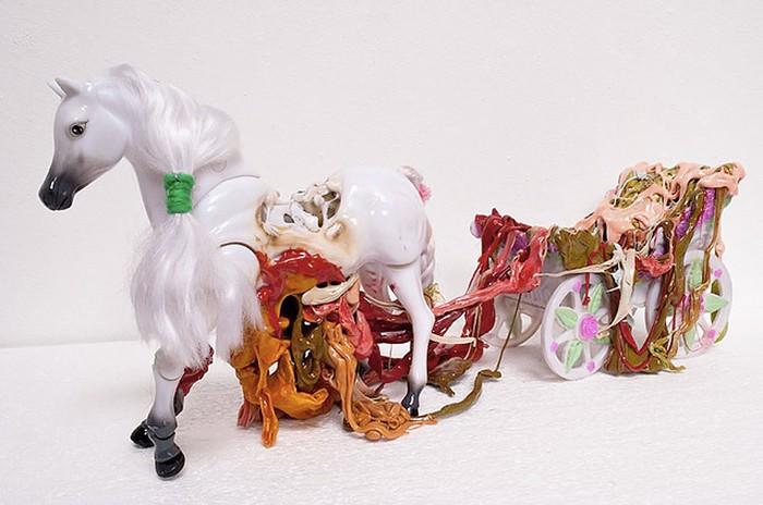Анатомические пластиковые скульптуры «Plastination» от Стефана Гросса (Stefan Gross)