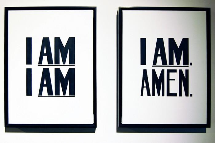 «I am a man. I am, amen» - серия гуманистских плакатов от Хэнка Виллиса Томаса (Hank Willis Thomas)