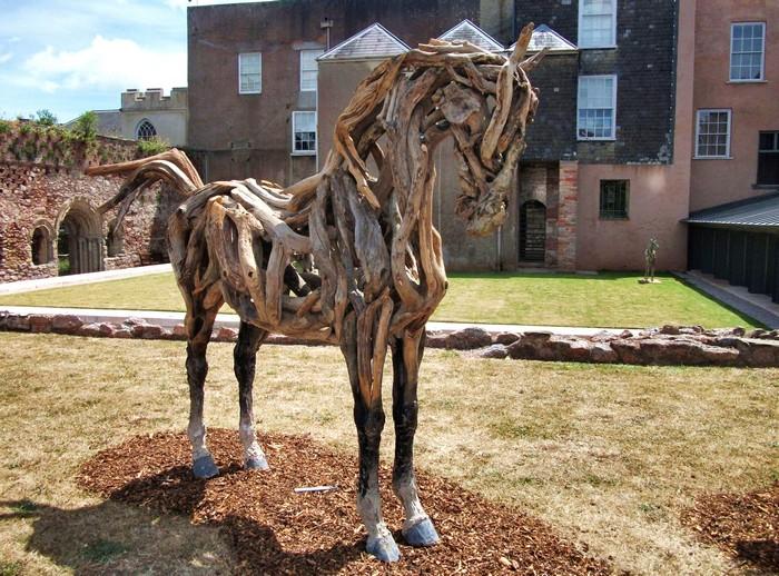 Морские лошади – удивительные деревянные скульптуры от Хизер Янск (Heather Jansch)