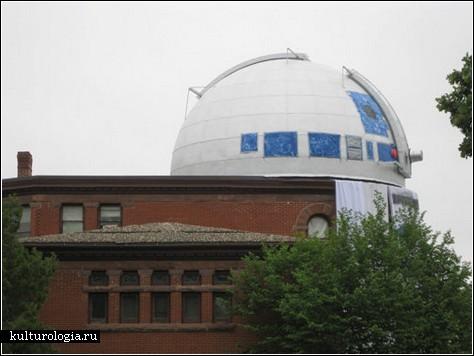 R2D2 будет наблюдать за звездами